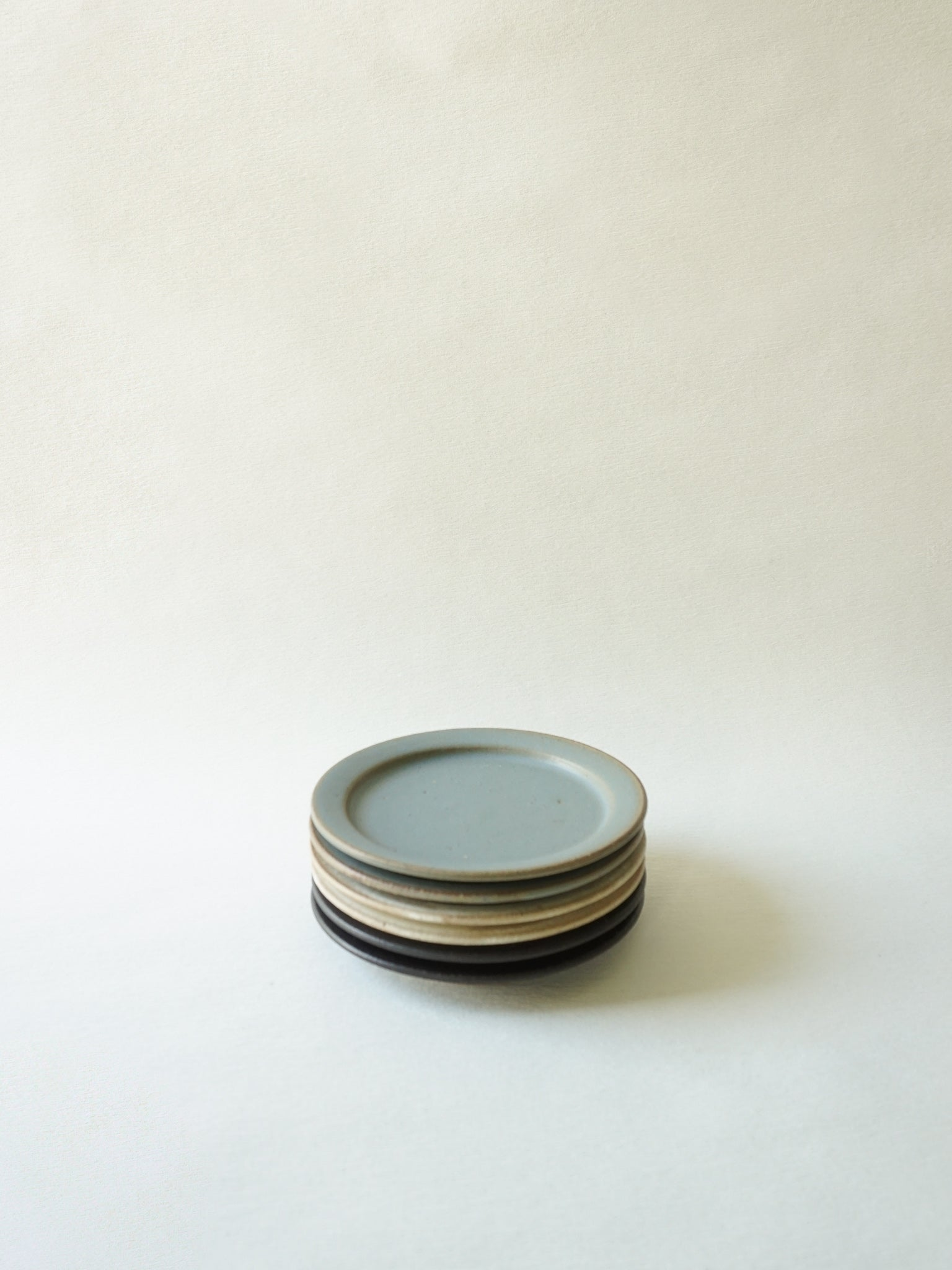 Blue Grey Stackable Mini Plate (XS)