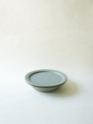 Blue Grey Stackable Lunch Plate (M)