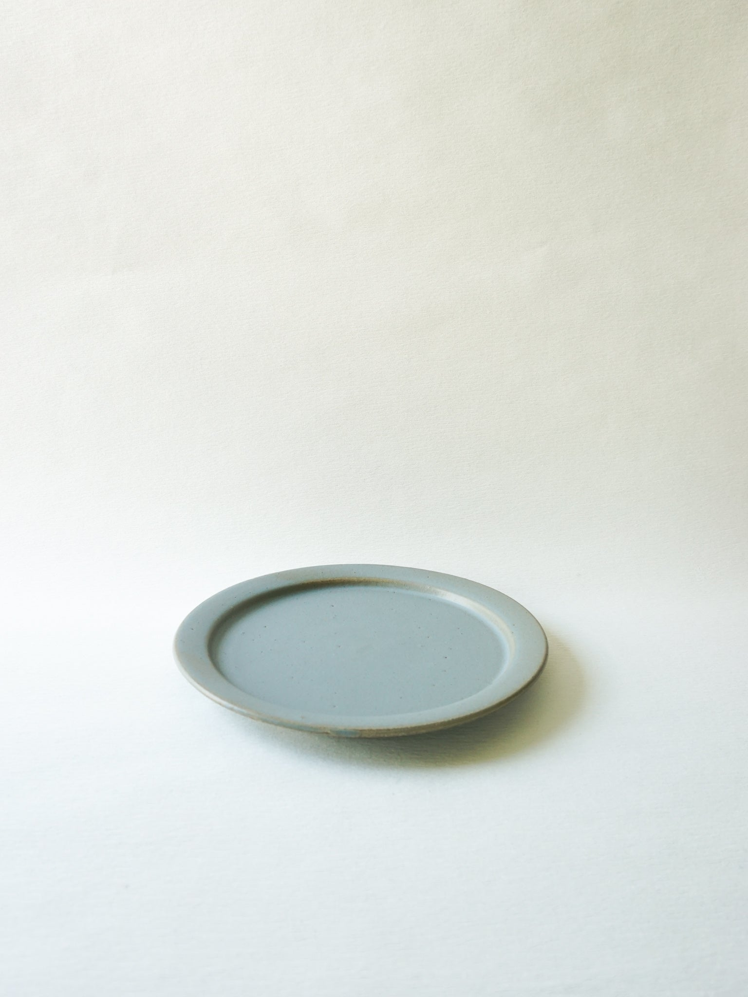 Blue Grey Stackable Dinner Plate (L)