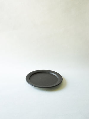 Black Stackable Appetizer Plate (S)