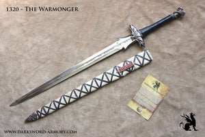 Darksword armory The Warmonger Barbarian Sword
