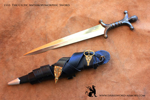 Darksword armory Anthropomorphic Celtic Sword