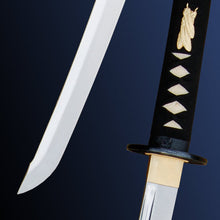 Load image into Gallery viewer, Raptor Katana, Unokubi Zukuri by Paul Chen / Hanwei