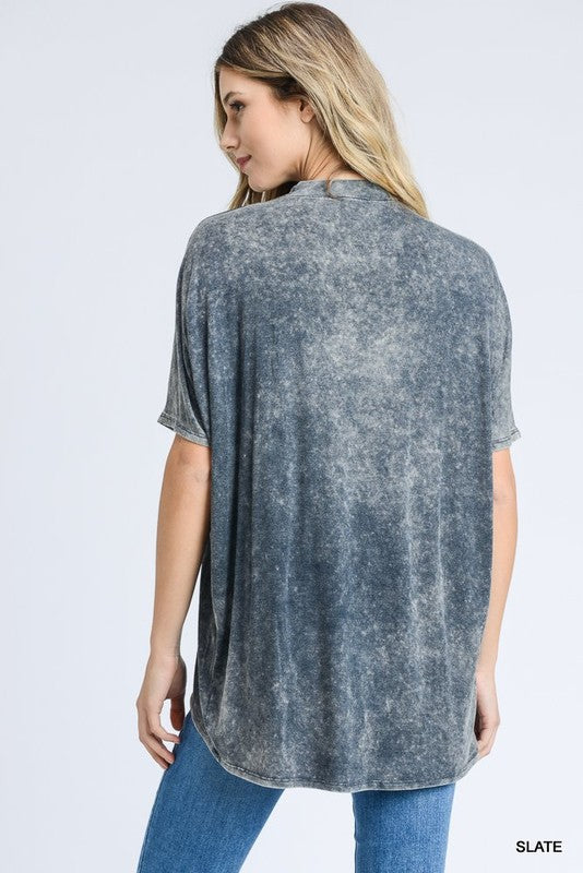 Waterly Eve Slate Keyhole Top | URBAN ECHO SHOP