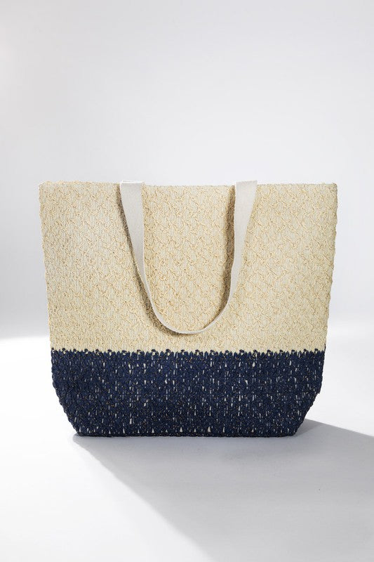 'Beach Happy' Woven Tote | URBAN ECHO SHOP