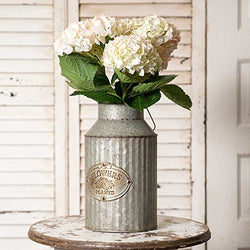 Vintage Rustic Metal Vase | URBAN ECHO SHOP