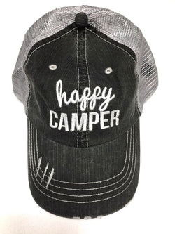 'Happy Camper' Personality Hat | URBAN ECHO SHOP