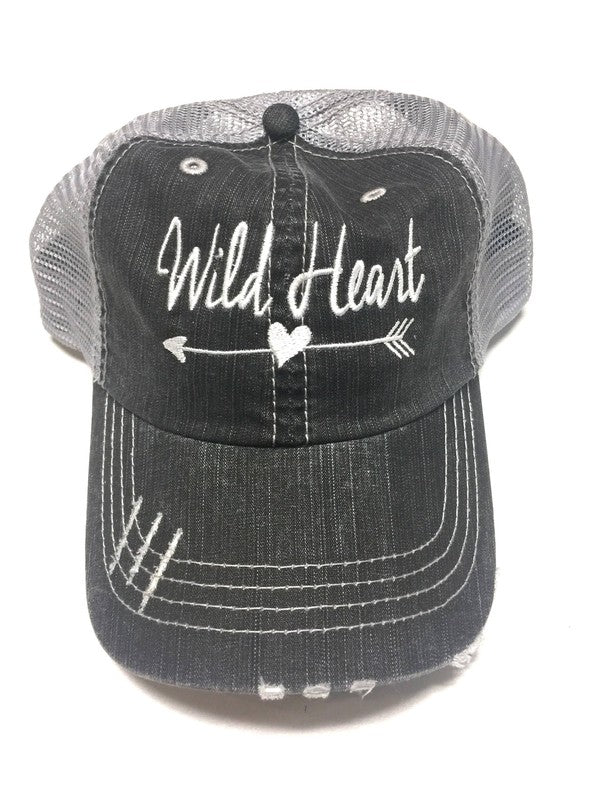 'Wild Heart' Embroidered Personality Hat | URBAN ECHO SHOP
