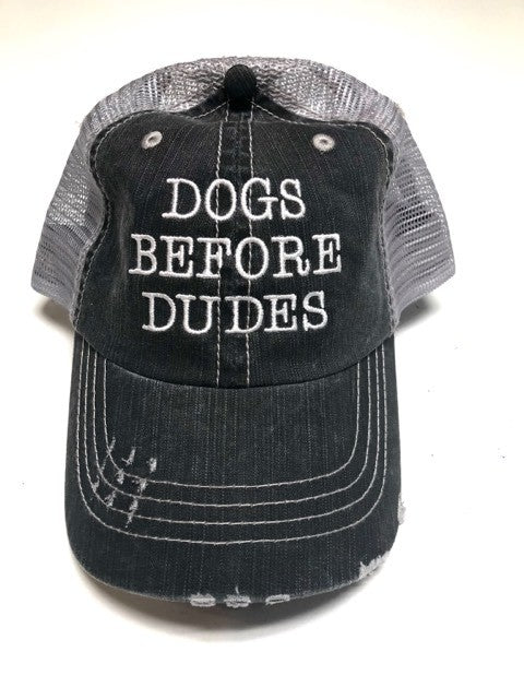 'Dogs Before Dudes' Personality Hat | URBAN ECHO SHOP