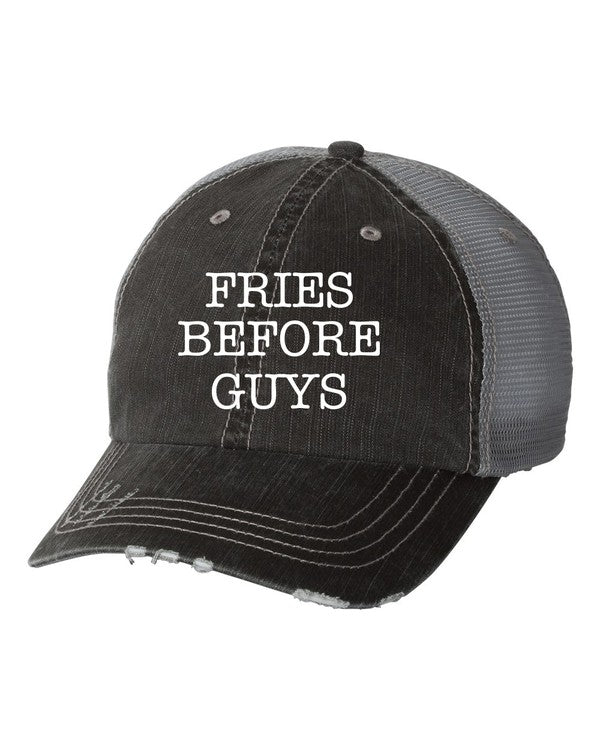 'Fries Before Guys' Personality Hat | URBAN ECHO SHOP