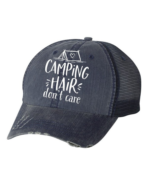 'Camping Hair Don't Care' Personality Hat | URBAN ECHO