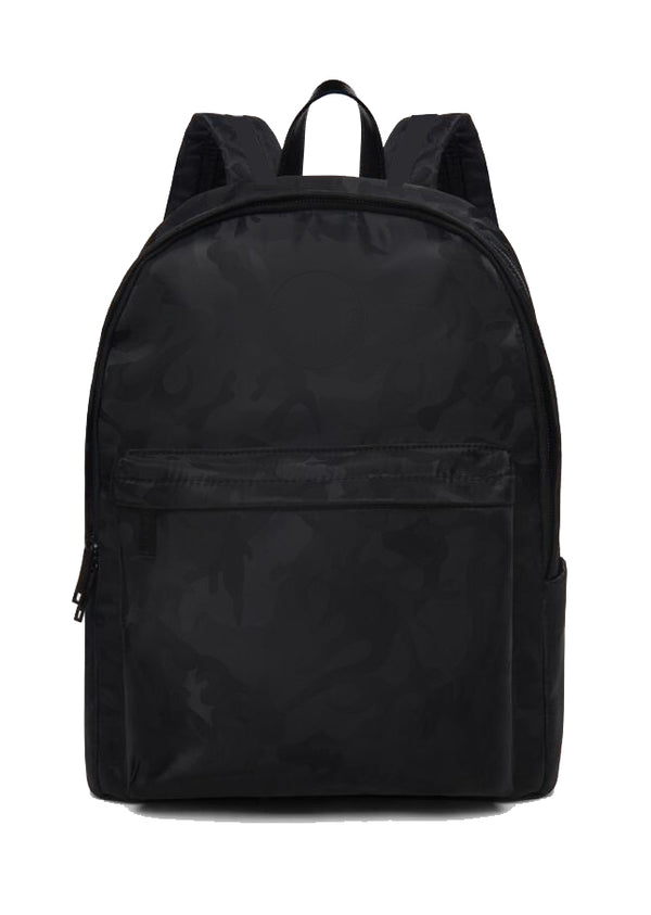 Black Nylon Camo Daytrip Backpack | URBAN ECHO SHOP