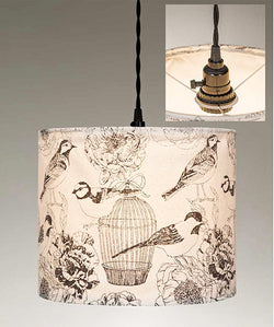 Birdcages Canvas Pendant Lamp | URBAN ECHO SHOP
