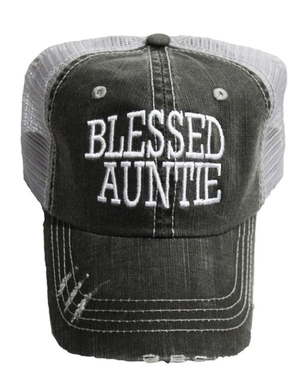 'Blessed Auntie' Personality Hat | URBAN ECHO SHOP