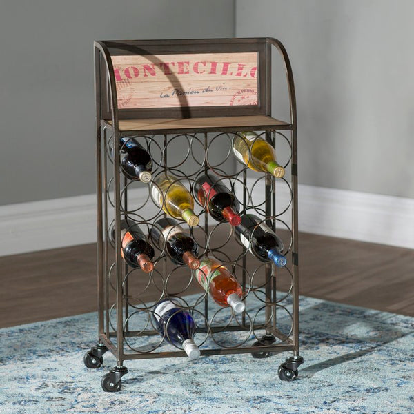 Goulette 20 Bottle Floor Wine Rack | URBAN ECHO SHOP