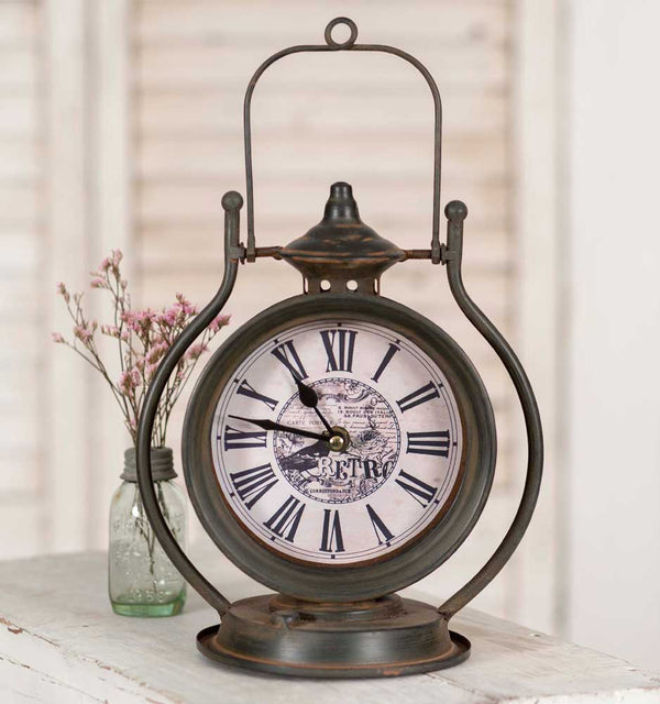 Retro Table Clock | URBAN ECHO SHOP