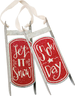 Snow Day Holiday Ornament Set | URBAN ECHO SHOP
