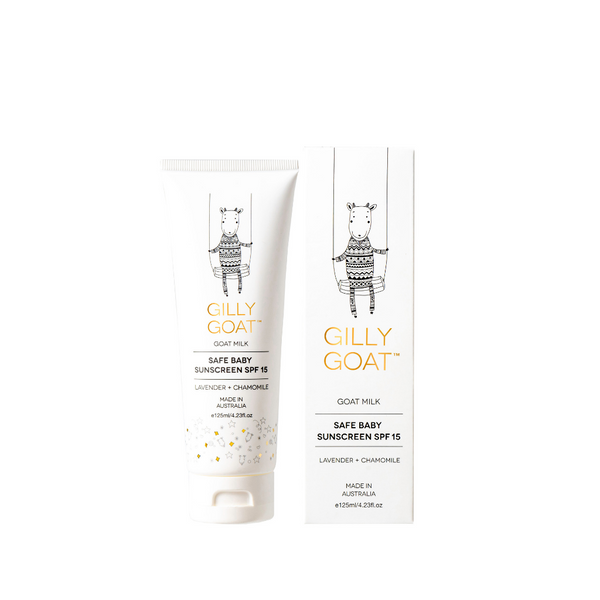 WS Gilly Goat Safe Baby Sunscreen SPF 15 125ml