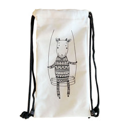 Gilly Goat Canvas Tote