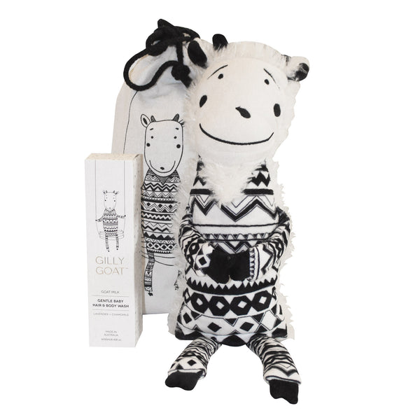 Gilly Goat Bath & Bed Buddy Set