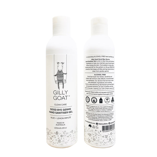 Gilly Goat Good Bye Germs Sanitiser Hand Gel 250ml