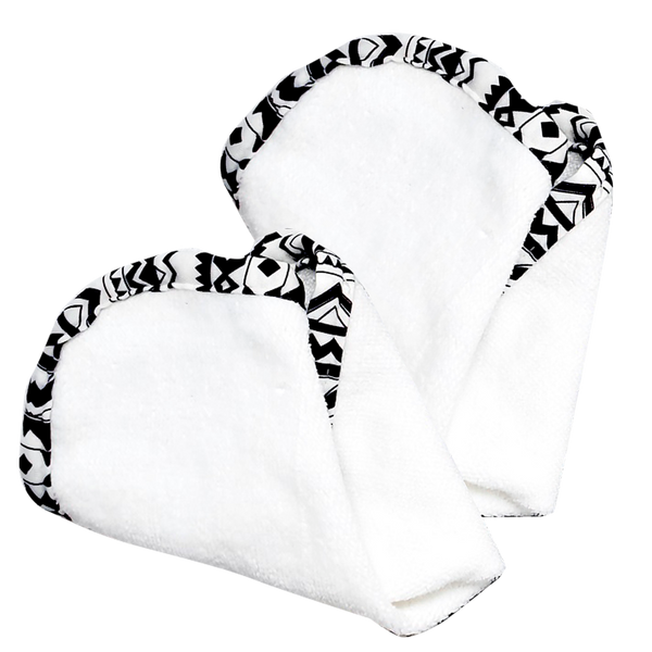 Gilly Goat Lush Plush Wash Cloth Duo
