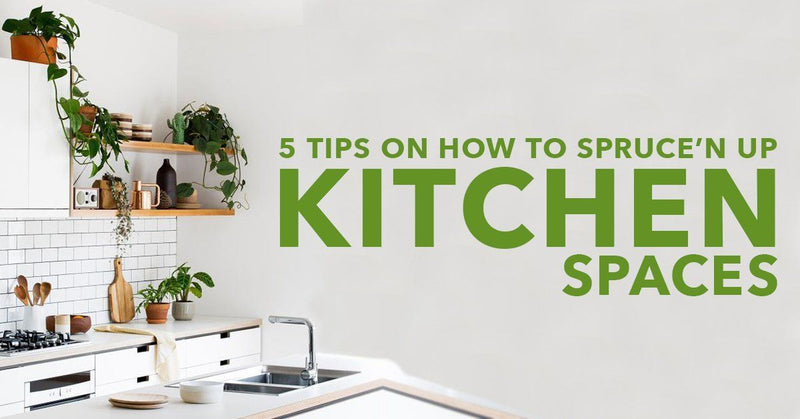 5 Tips on How To Spruce'n Up Kitchen Spaces With Artificial Plants