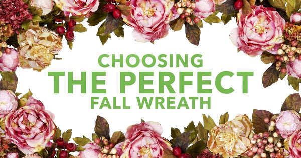 Choosing The Perfect Fall Wreath