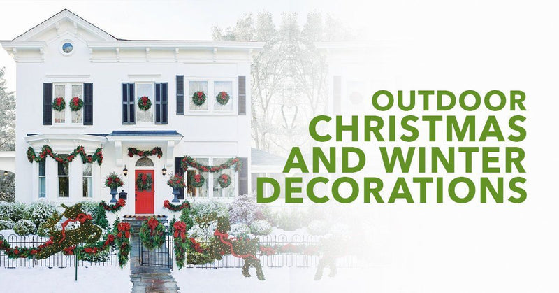 Outdoor Christmas And Winter Decorations