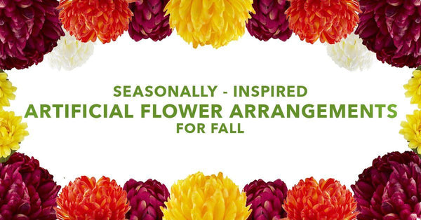 Seasonally-Inspired Artificial Flower Arrangements For Fall