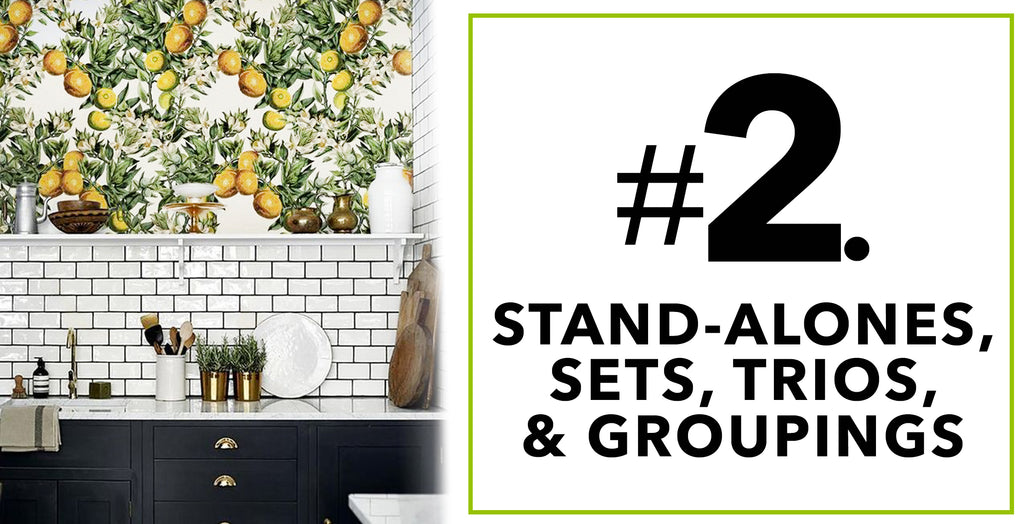 Tips On How To Spruce'n Up Kitchen Spaces With Artificial Plants: Stand-Alones, Sets, Trios, & Groupings