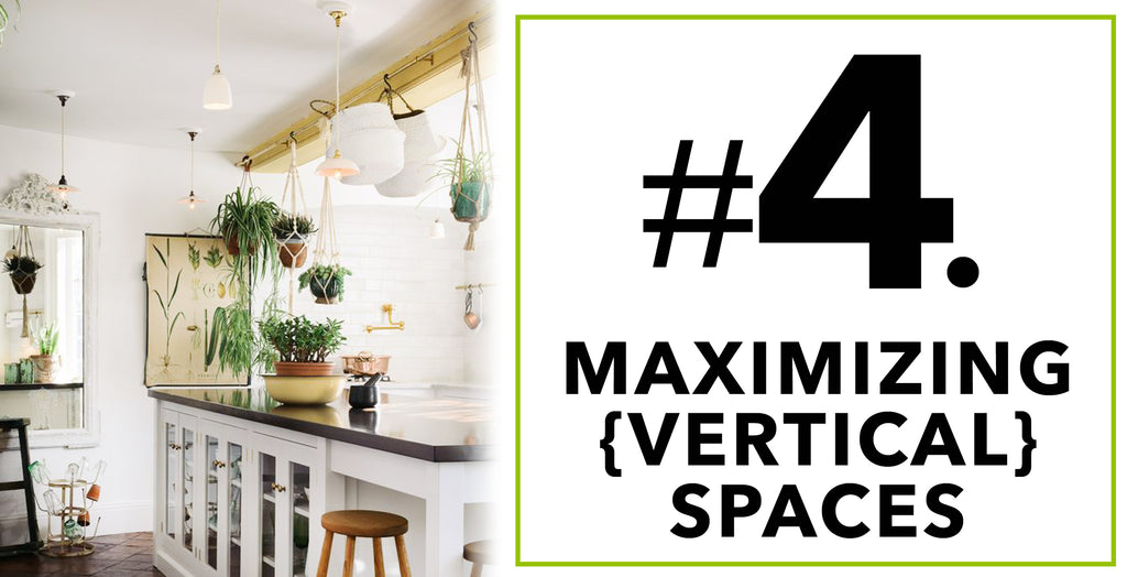 Tips On How To Spruce'n Up Kitchen Spaces With Artificial Plants: Maximizing {Vertical} Space