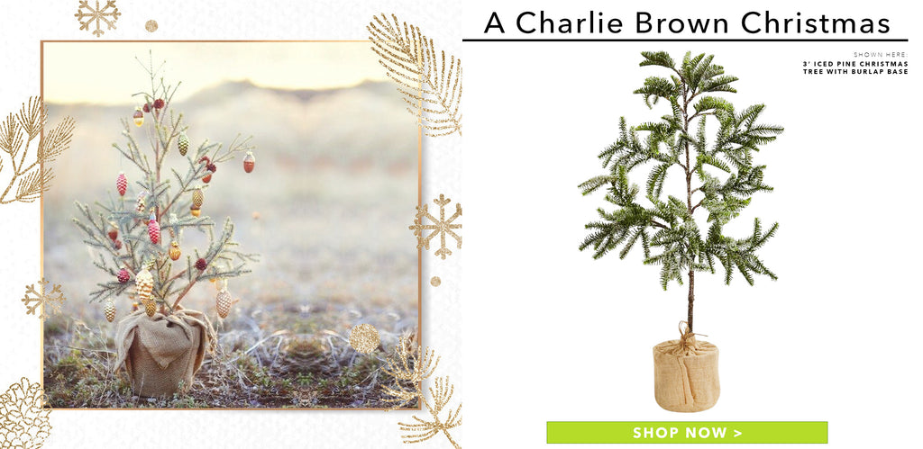 A Charlie Brown & Co. Christmas Tree