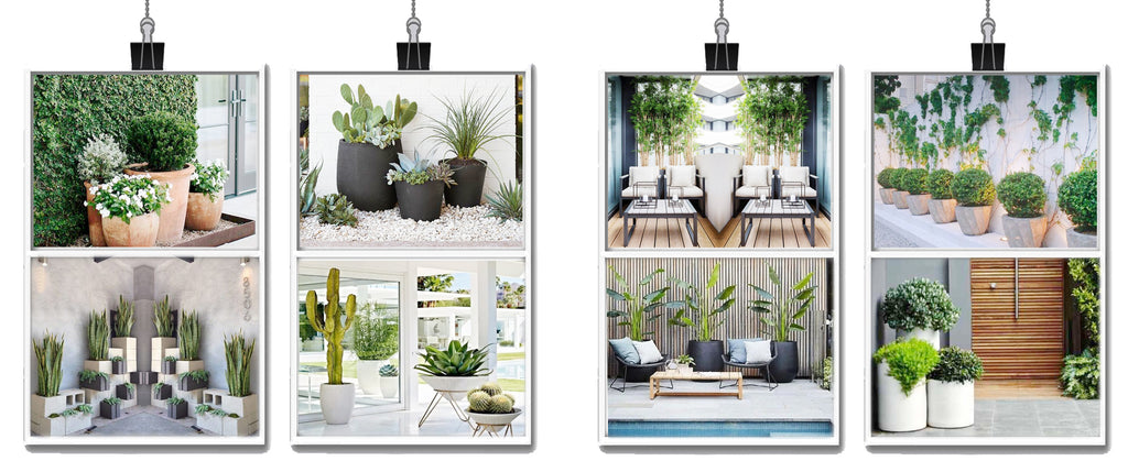 Solving Landscaping Problems With Outdoor Artificial Plants Nearly Natural
