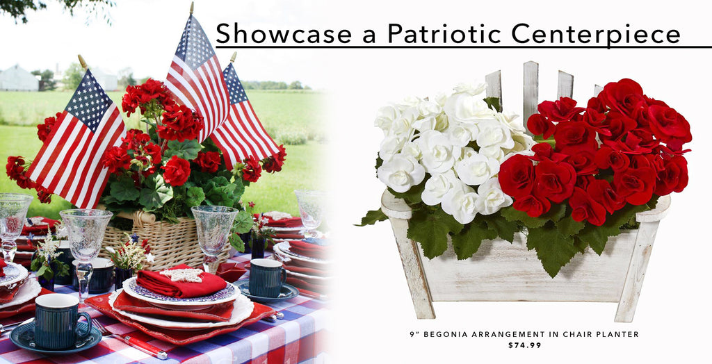 Showcase a Patriotic Centerpiece
