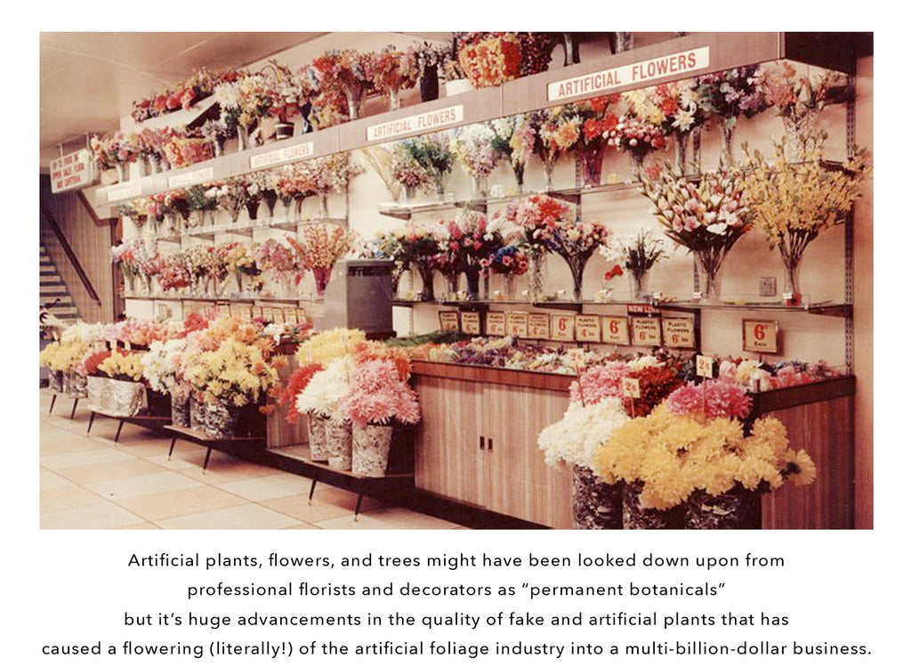 History of Fake Plants - Fake Florists