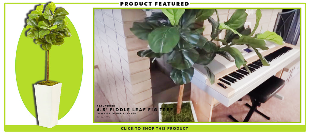 Fake Fiddle Leaf Fig Tree