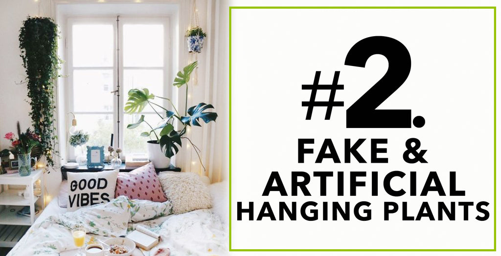 Fake Artificial Hanging Plants