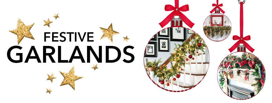 Traditional Christmas Decorations With The Best of Holiday Faux-liage: Festive Garlands
