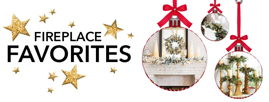 Traditional Christmas Decorations With The Best of Holiday Faux-liage: Fireplace Favorites