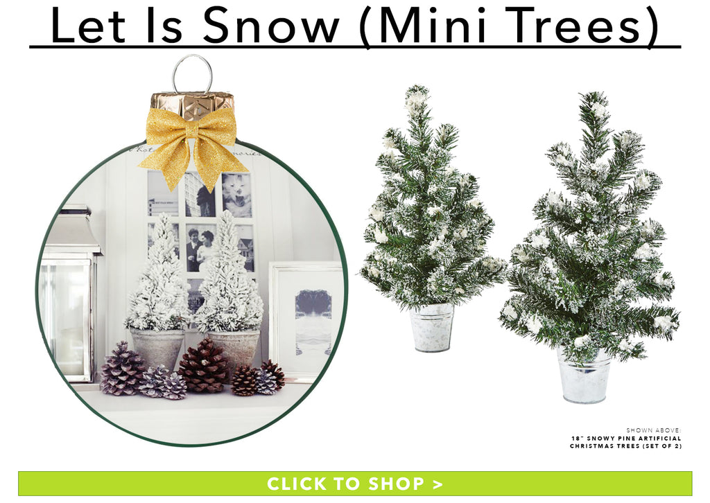 Let It Snow (Mini Trees)