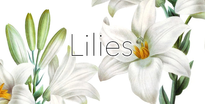 Artificial Winter Florals To Outlive The Holidays: Lilies