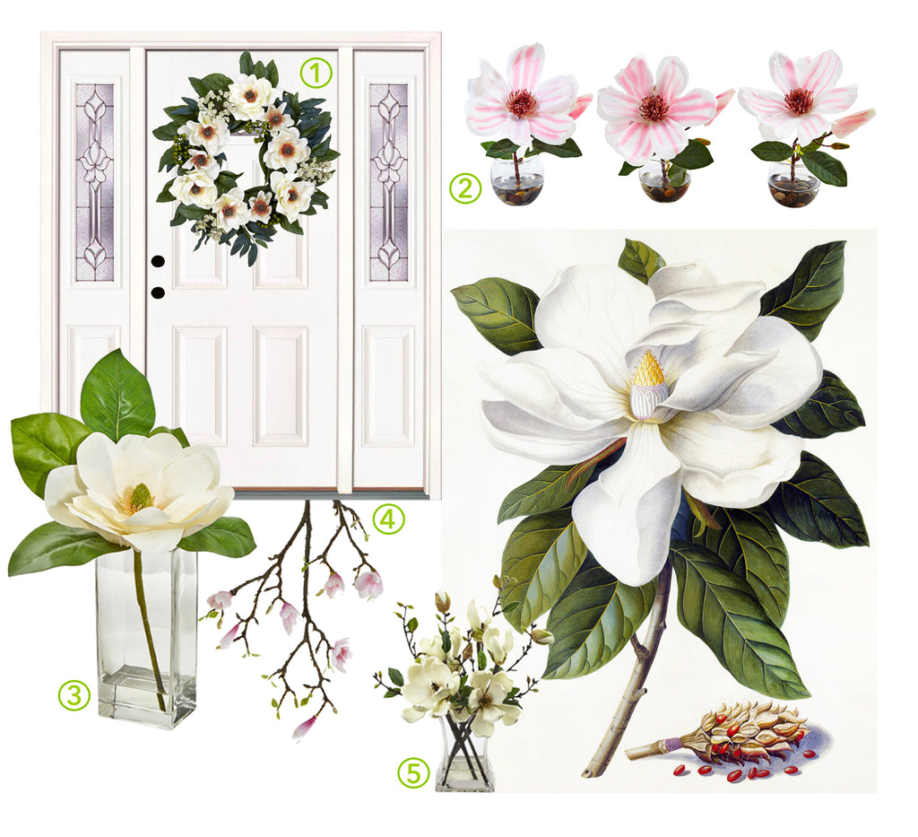 Celebrating International Women's Day With Artificial Flowers: Magnolias