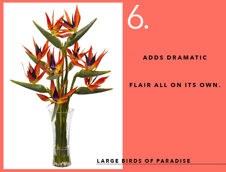 Pantone's Color of the Year With Birds of Paradise Arrangements