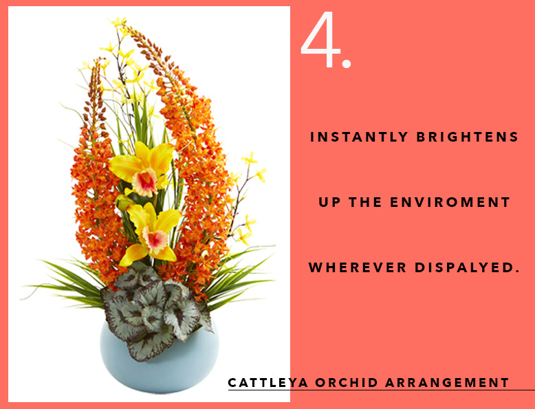 Pantone's Color of the Year With Cattleya Orchid Arrangements