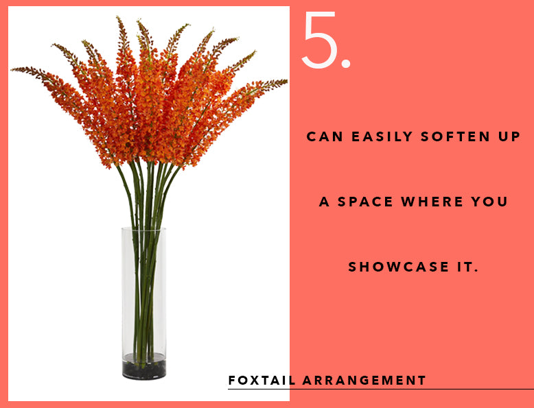 Pantone's Color of the Year With Foxtail Arrangements
