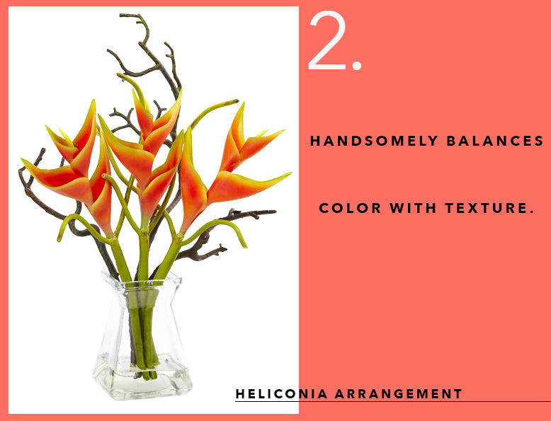 Pantone's Color of the Year with Heliconia Arrangement