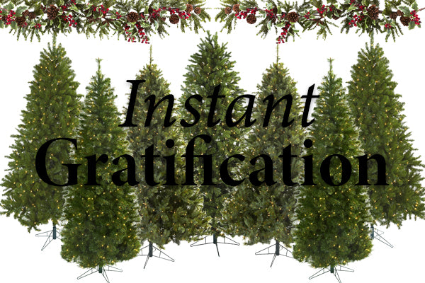 Benefits Of An Artificial Christmas Tree: Instant Gratification