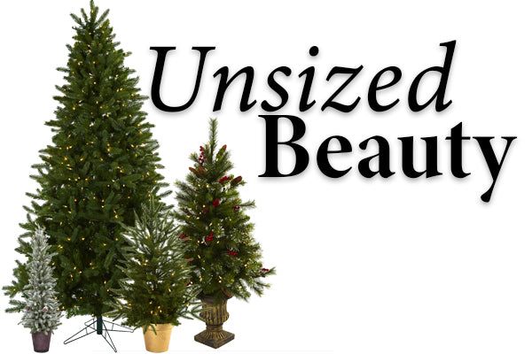 Benefits Of An Artificial Christmas Tree: Unsized Beauty
