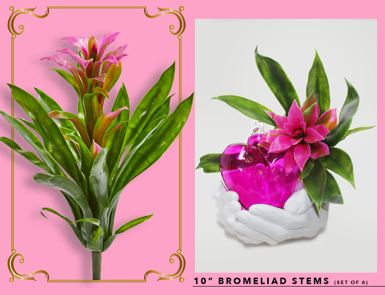 Nearly Natural Fake And Artificial Bromeliads